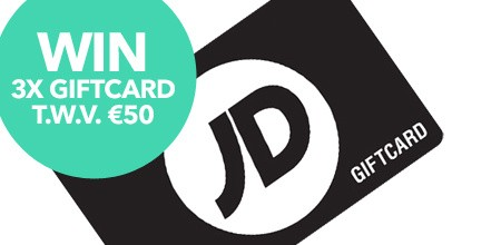 Doe mee & win een giftcard van JD Sports!