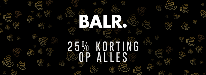 Black Friday bij BALR.
