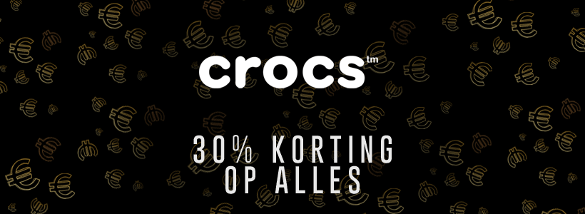 Black Friday bij Crocs