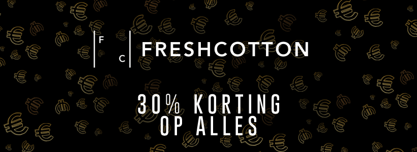 Black Friday bij FreshCotton