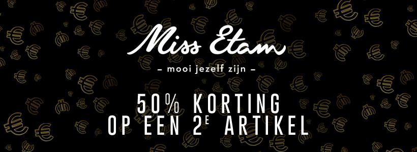 Black Friday bij Miss Etam