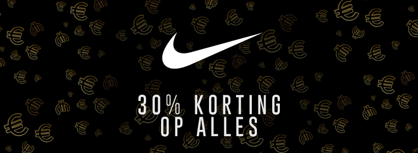 Black Friday bij Nike