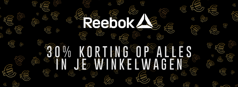 Black Friday bij Reebok