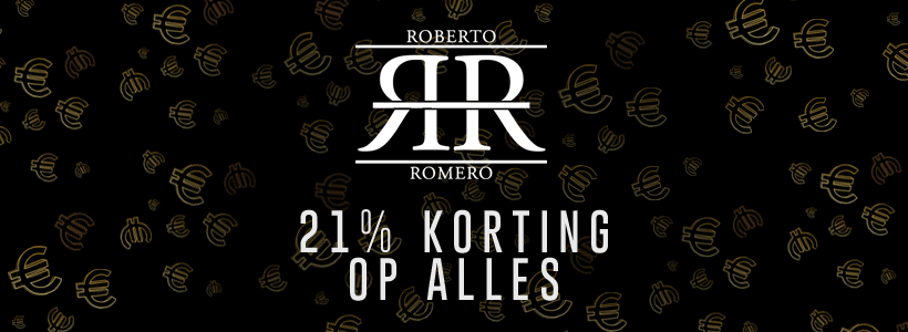 Black Friday bij Roberto Romero