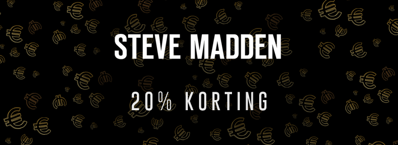 Black Friday bij Steve Madden